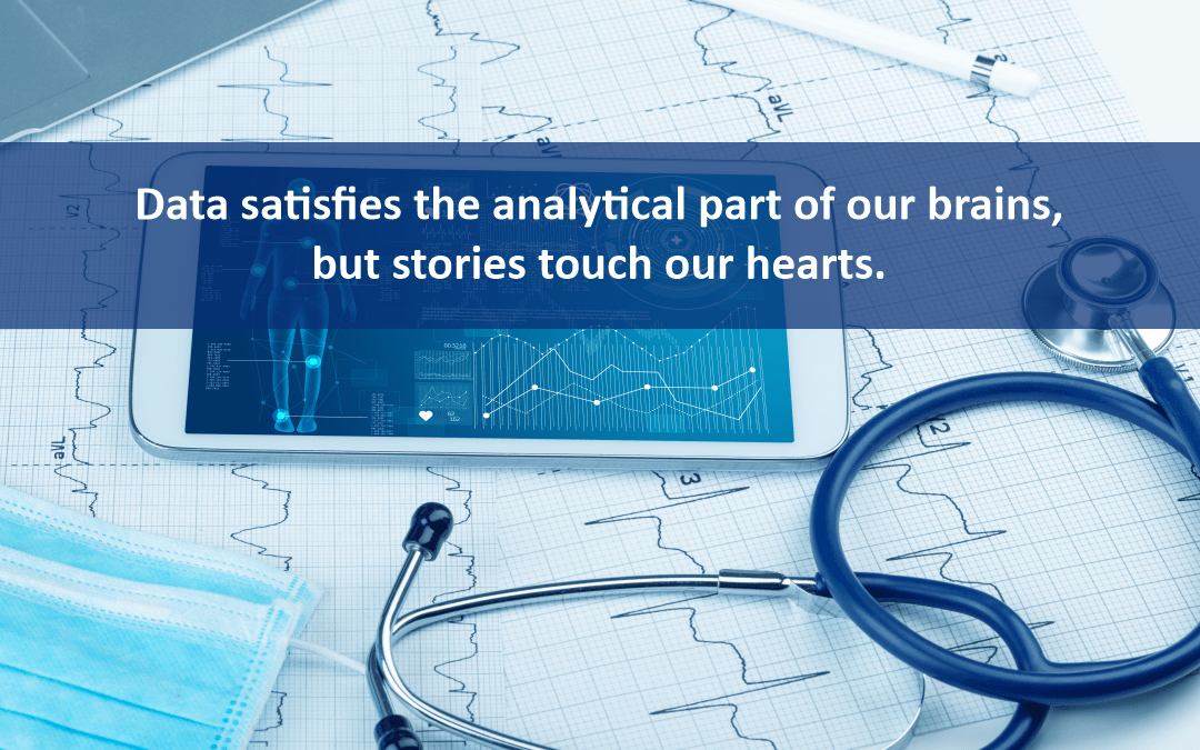 Story telling using healthcare data strengthens provider-patient relationship